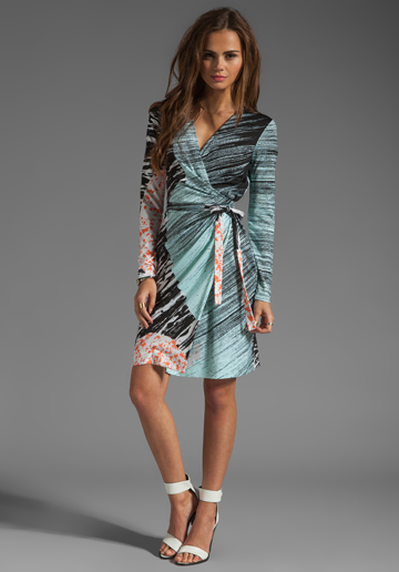 How To Tie A Dvf Wrap Dress DVF wrap dress