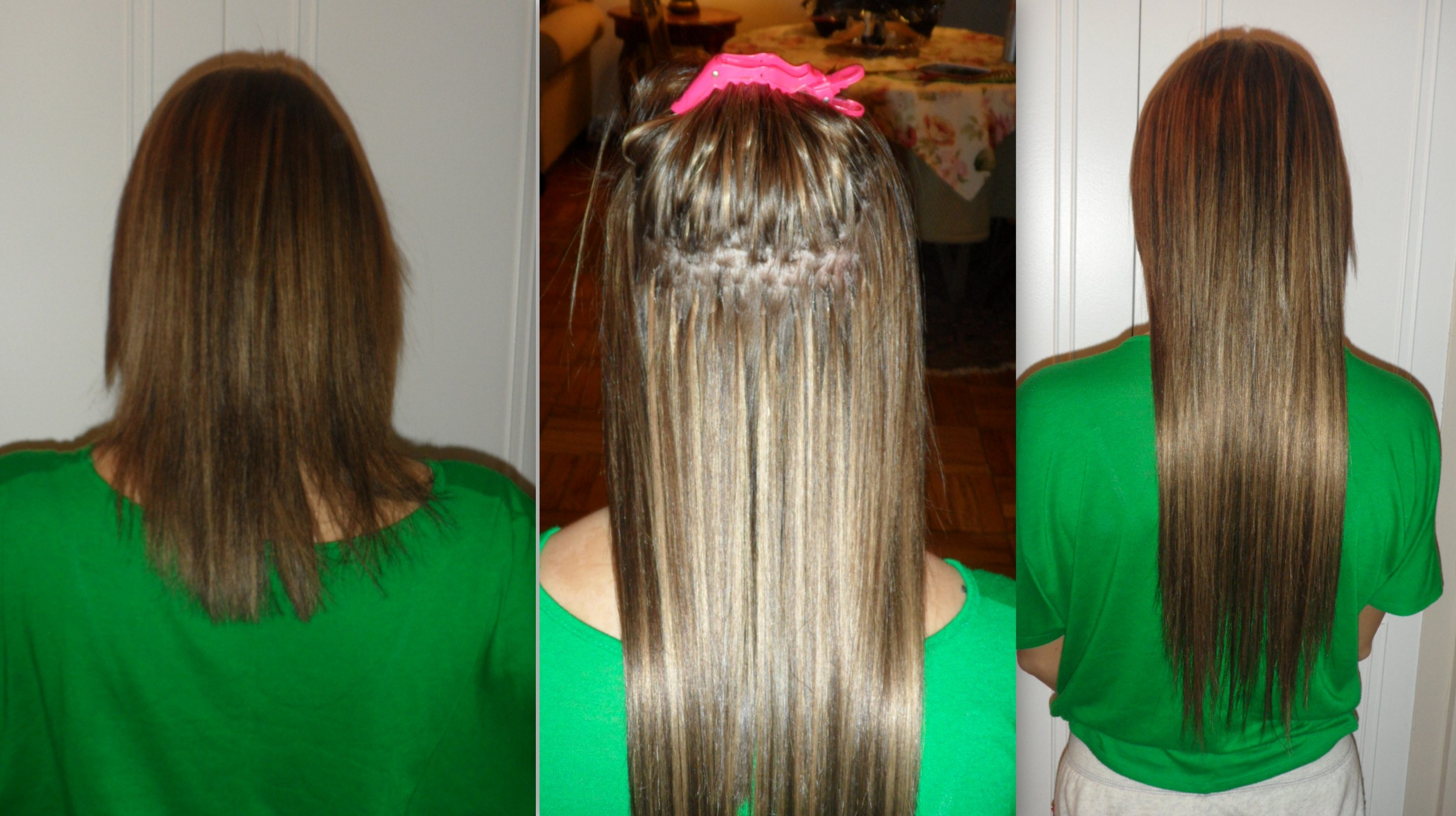 Weave Hair Extensions Before And After Human Hair Extensions