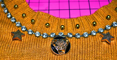 Embellished sweater Pinterest