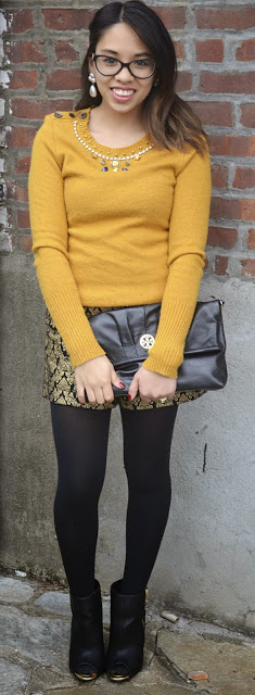 JCrew Sweater with Shorts