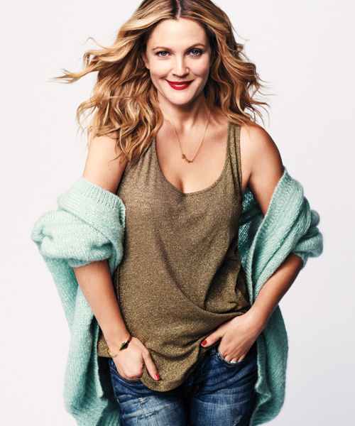 Drew BarryMore Womens Health