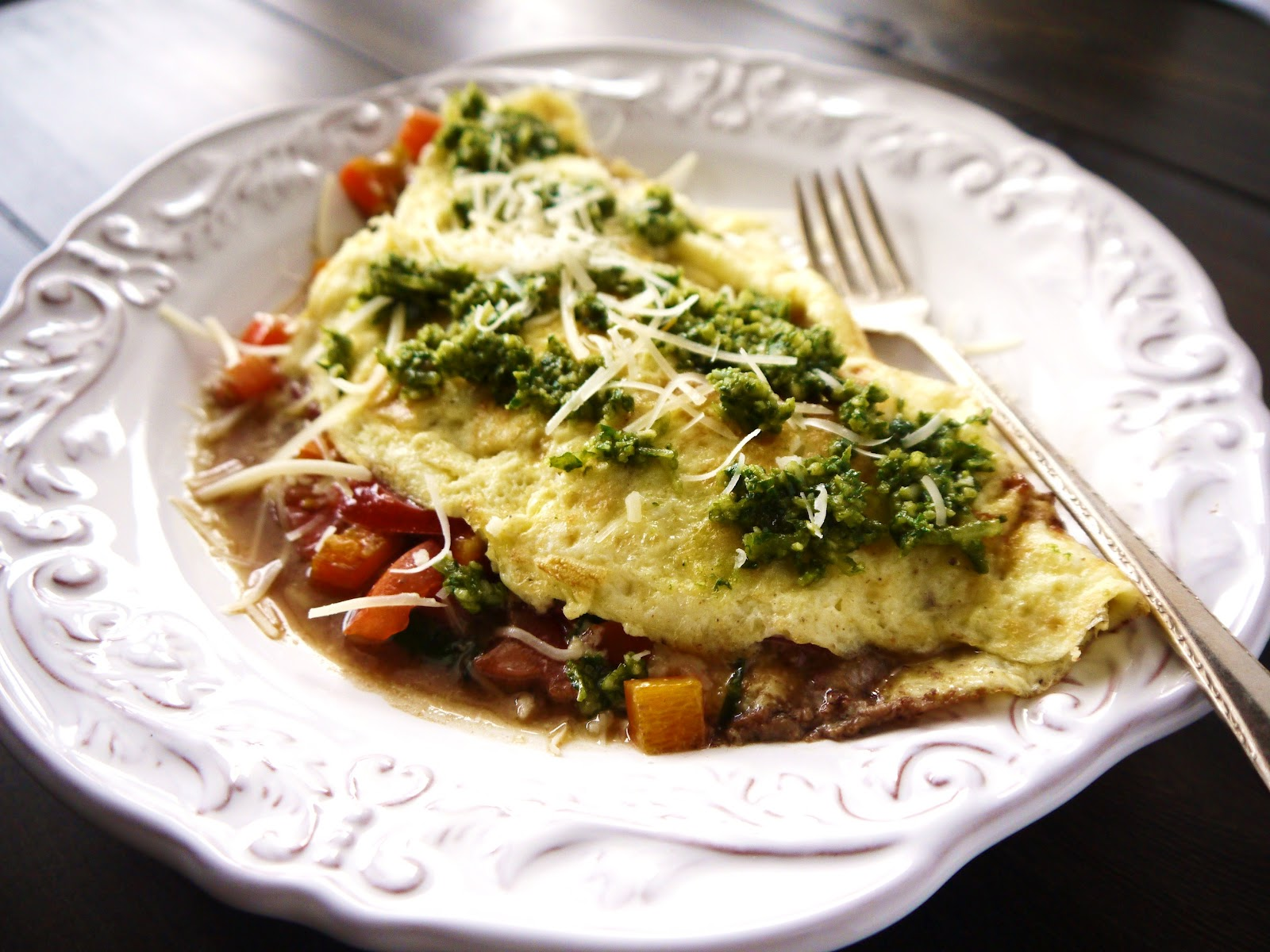 Egg and Salsa Omelet