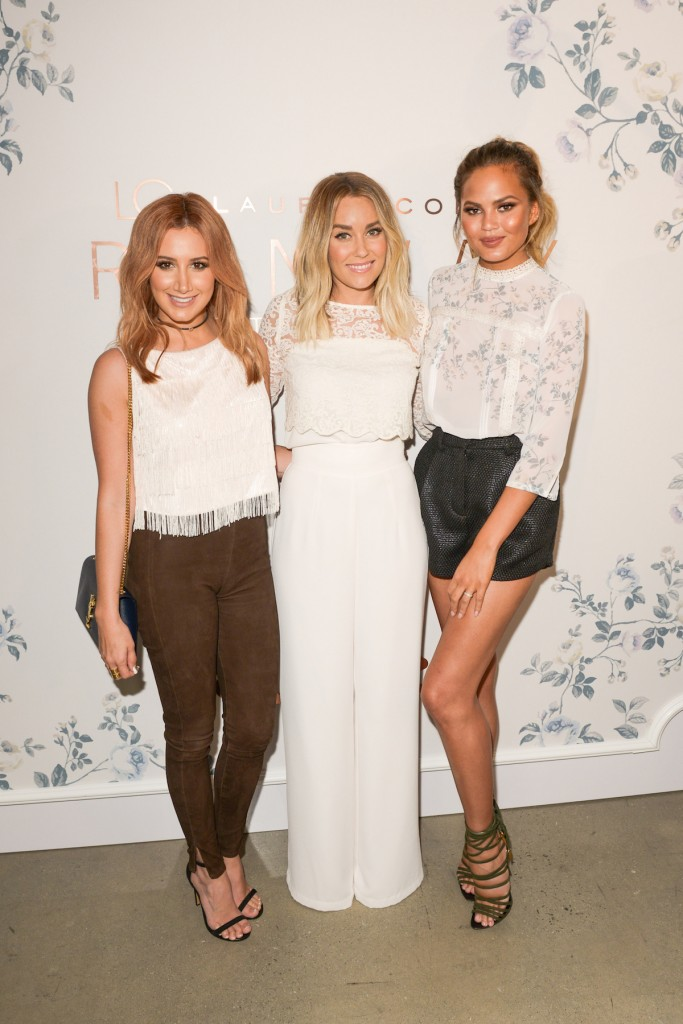 Ashley Tisdale, Lauren Conrad, Chrissy Tiegen
