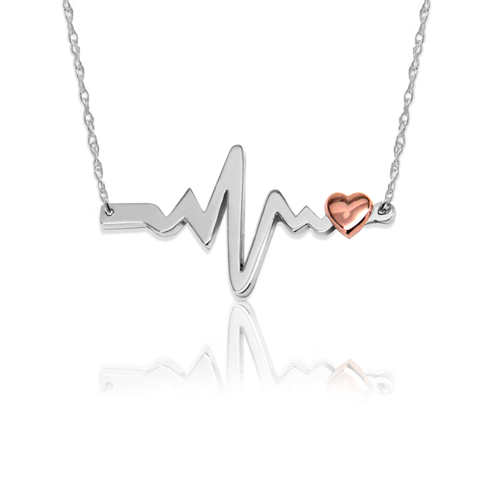 Jane Basch heart necklace