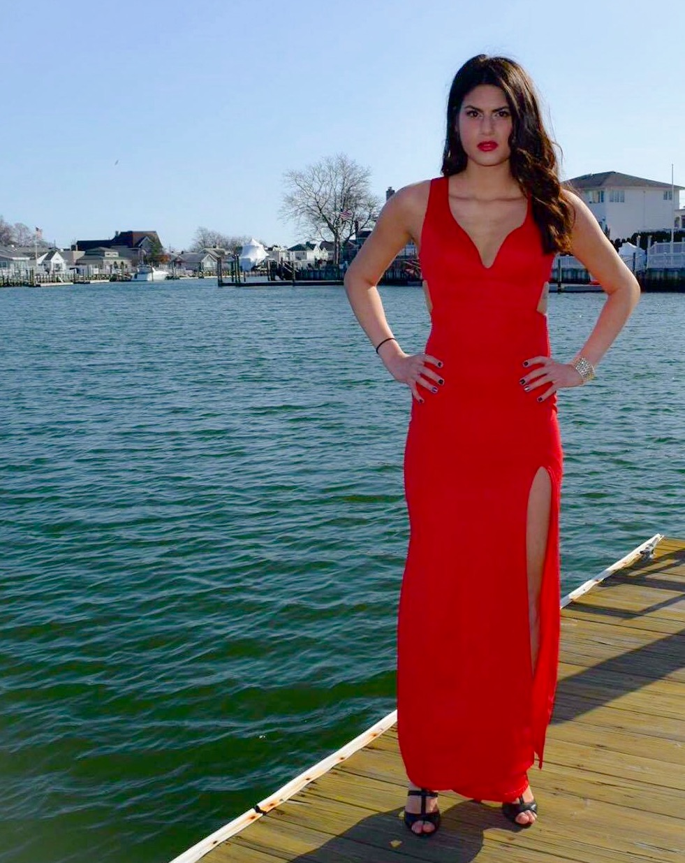 Perfect Prom Girl Red Dress Image Collection - All Wedding Dresses ...