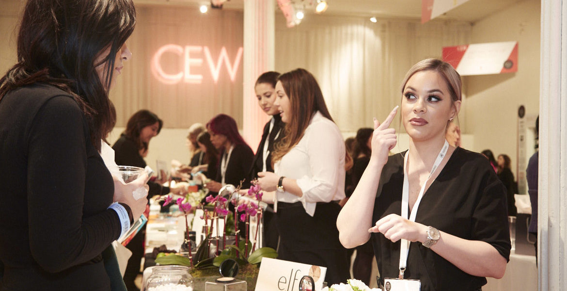 CEW 2017 Beauty Insider Awards Product Demo - held at Metropolitan Pavillion New Yorlk on March 8